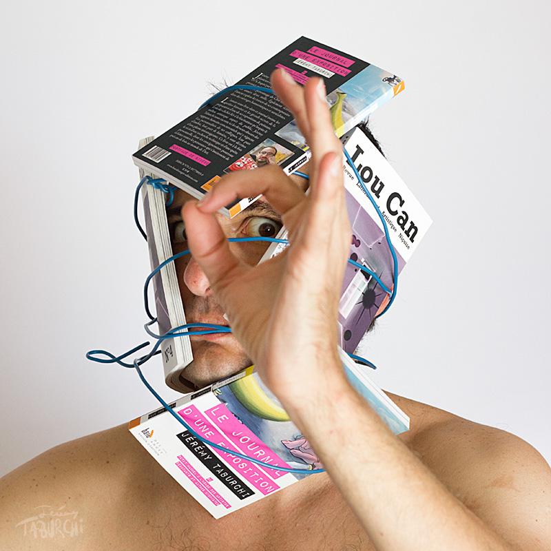Autoportrait en fan de lecture