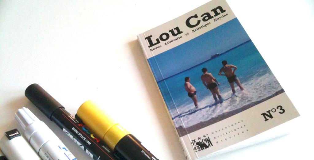 La couverture du troisième numéro de la revue littéraire et artistique Lou Can.