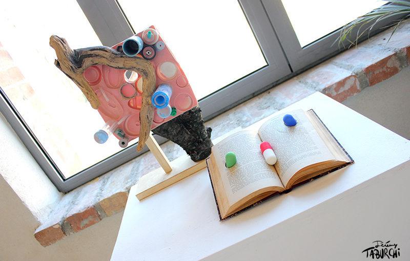 Exposition Des Artistes Sous Antibios volume 2 à la Librairie Niçoise, rue Defly