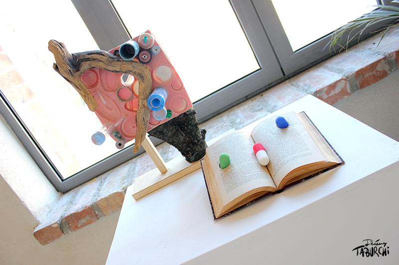 Le lecteur, une oeuvre de Jérémy Taburchi