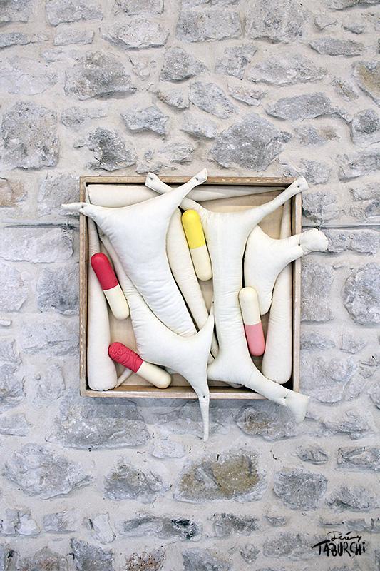 Composition en gélules par Jérémy Taburchi