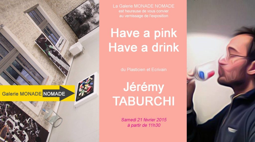 l'expo de Jérémy Taburchi à la galerie Monade Nomade.