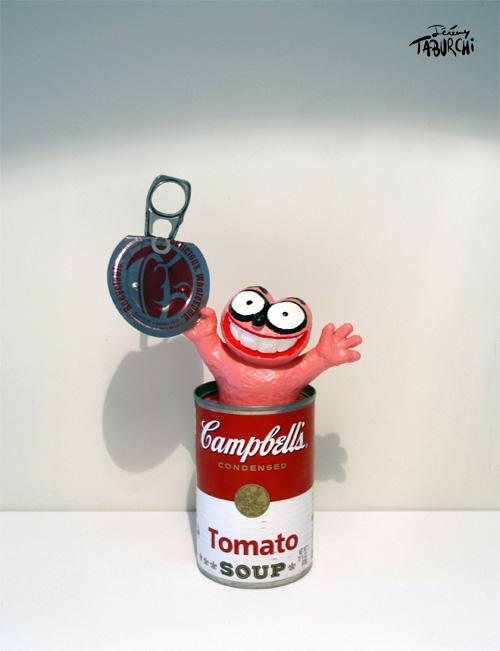 Champbell's Soup ou Andy Chat Rose par Jérémy Taburchi