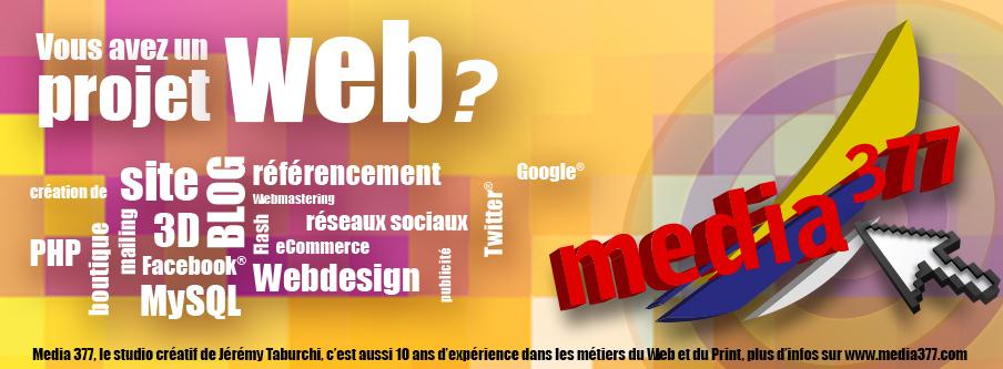 Les services Web de Jérémy Taburchi
