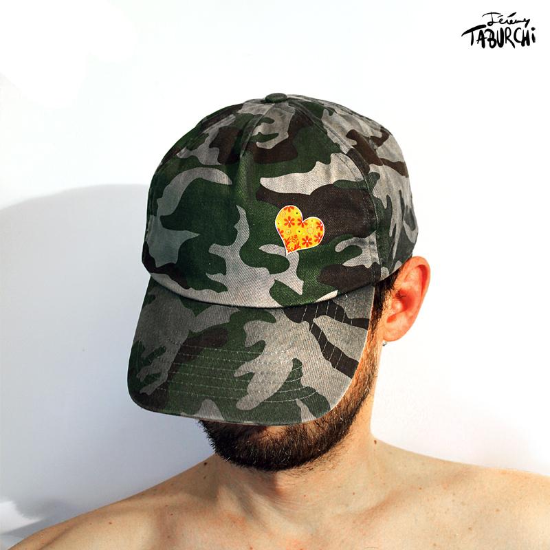 Autportrait à la casquette de Jérémy Taburchi