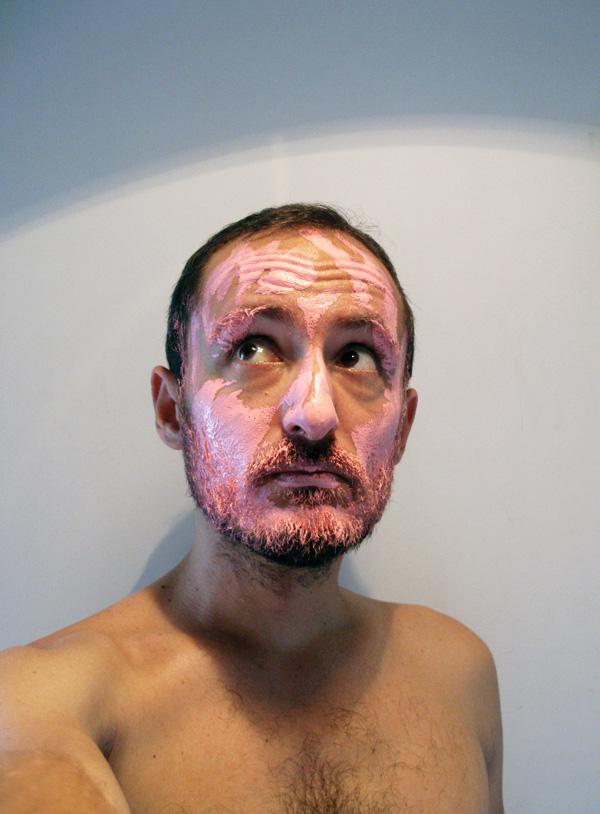 Autoportrait acrylique par Jérémy Taburchi