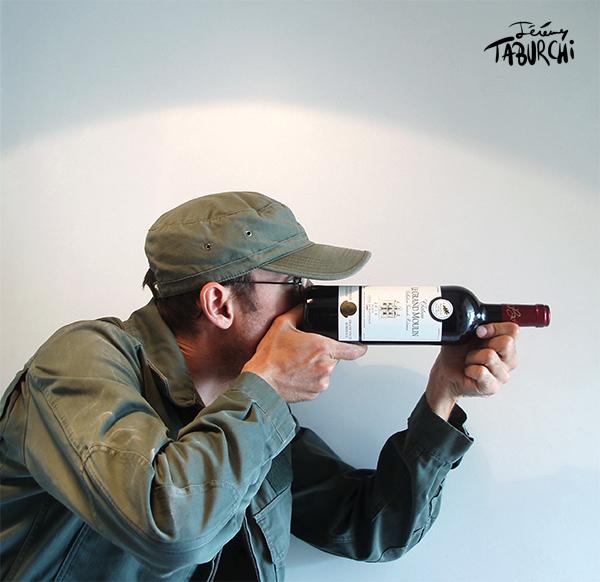 Autoportrait chasseur par Jérémy Taburchi