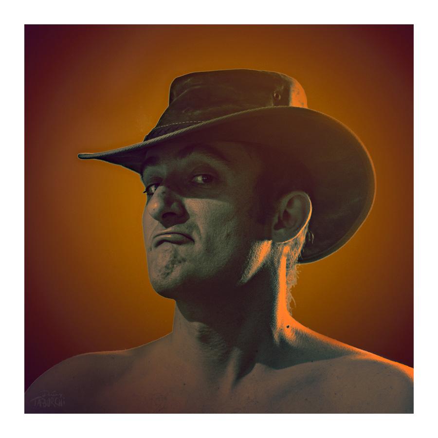 Autoportrait en cowboy