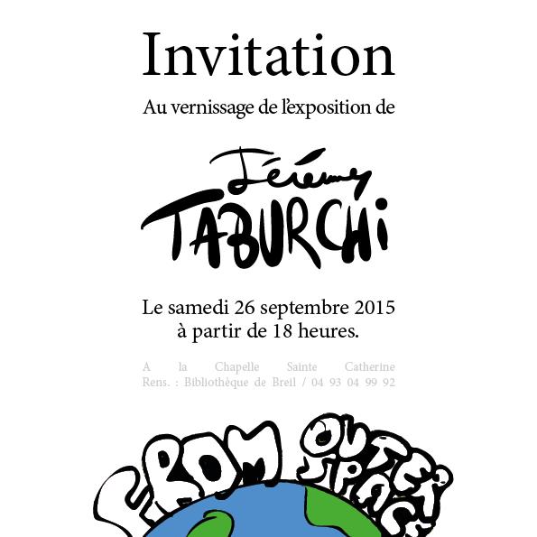 Invitation vernissage Breil-sur-Roya