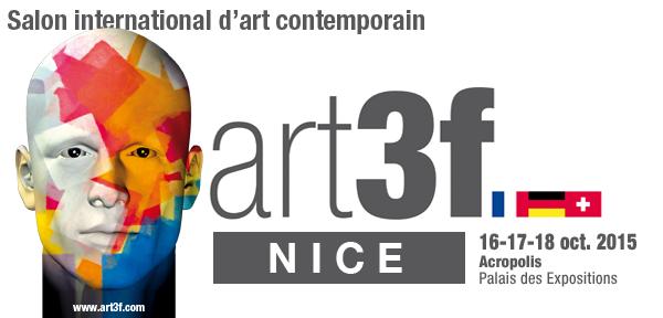 Le Chat Rose de Jérémy Taburchi participe à ART3F Nice 2015