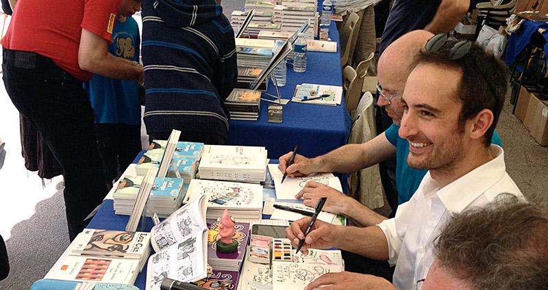 Festival du Livre de Nice © photo Baie des Anges éditions.