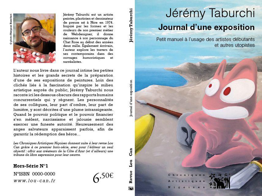Le journal d'une exposition, un livre de Jérémy Taburchi