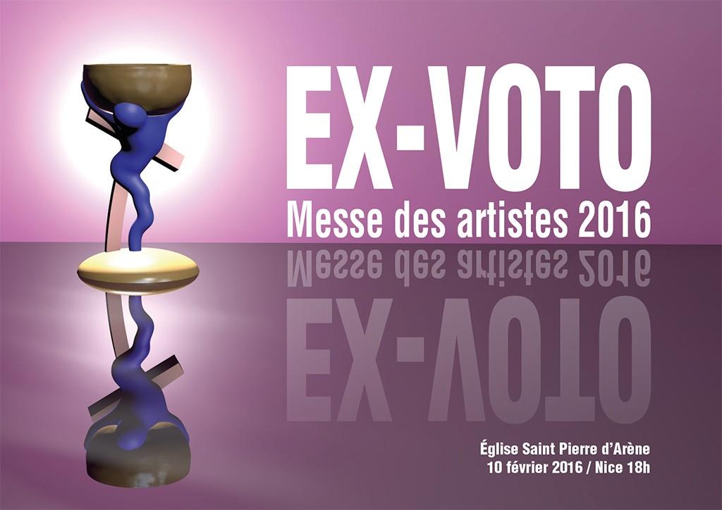 Visuel de la Messe des Artistes 2016 à Nice