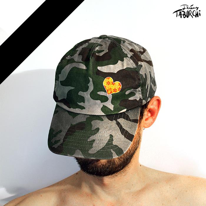 Autoportrait endeuillé, après l'attentat terroriste du 14 juillet 2016 à Nice.