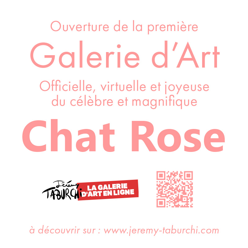 Galerie d'Art officielle du Chat Rose