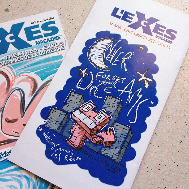 L'Excès Mag N°168 est disponible avec le Chat Rose en couverture