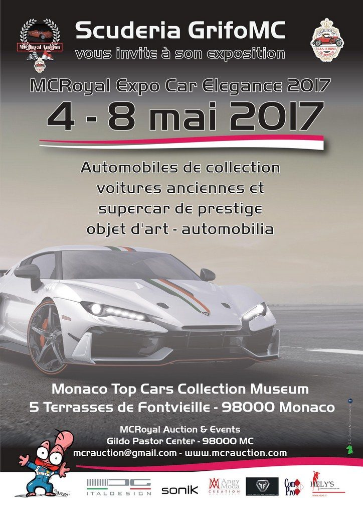 MCRoyal Expo / Car Elegance Monaco