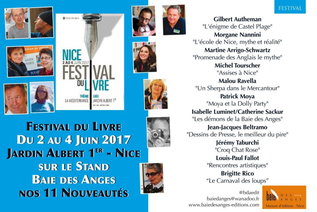 Festival du Livre de Nice 2017