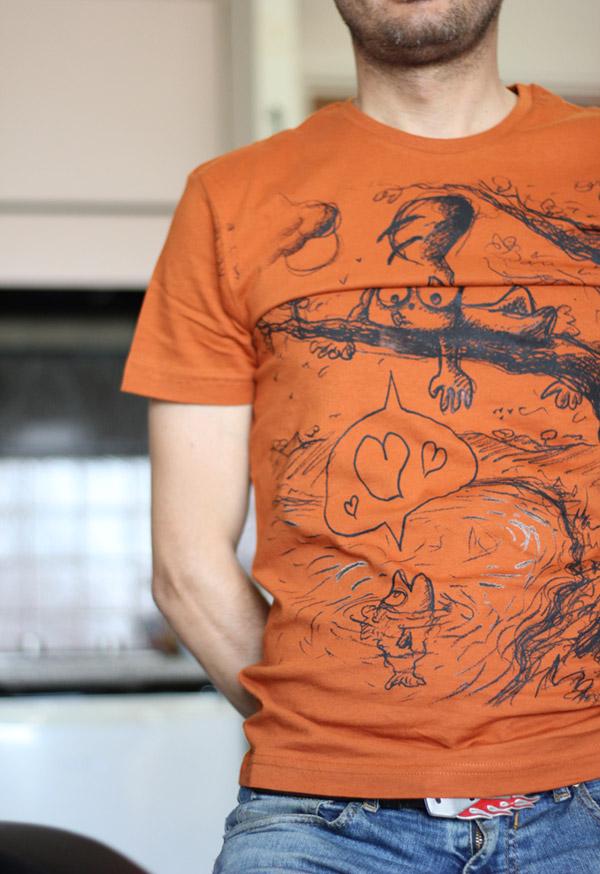 """Le Tshirt """"Zoophilia"""" du Chat Rose !"""