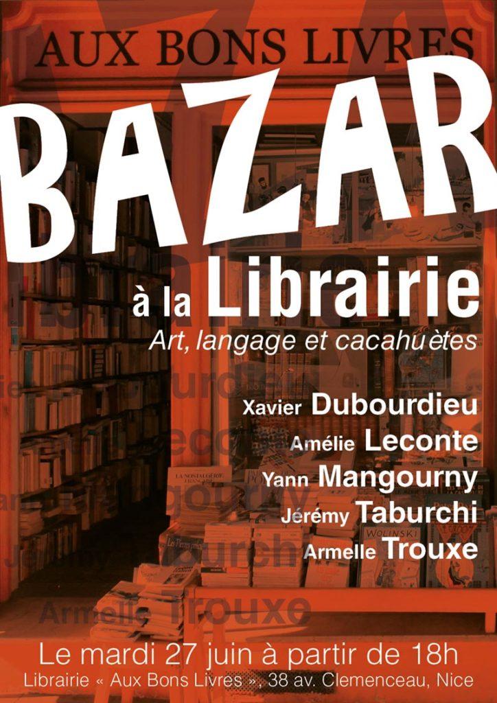 BAZAR à la Librairie