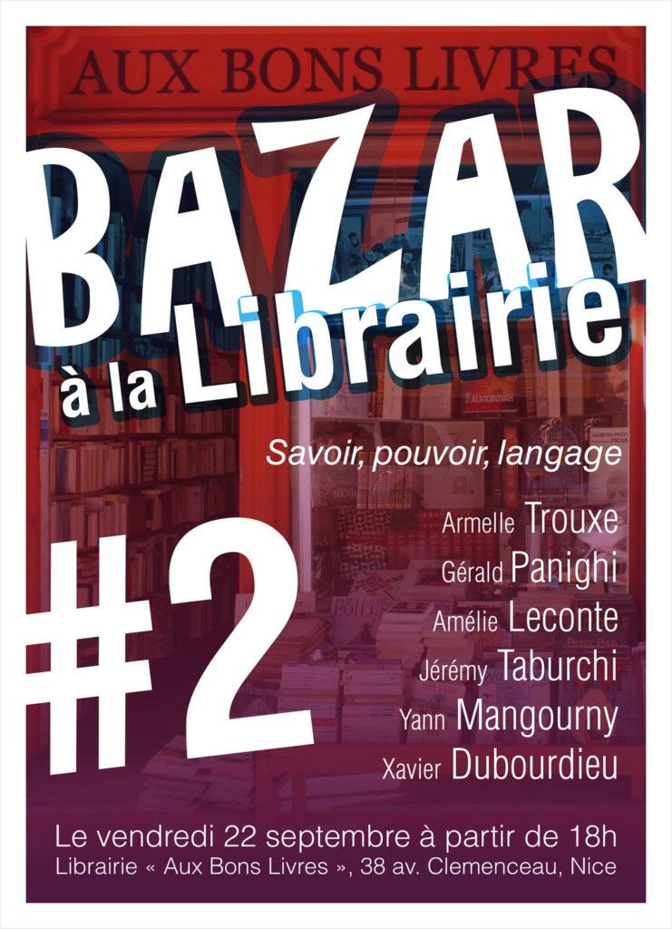 Le Bazar à la librairie #2 !