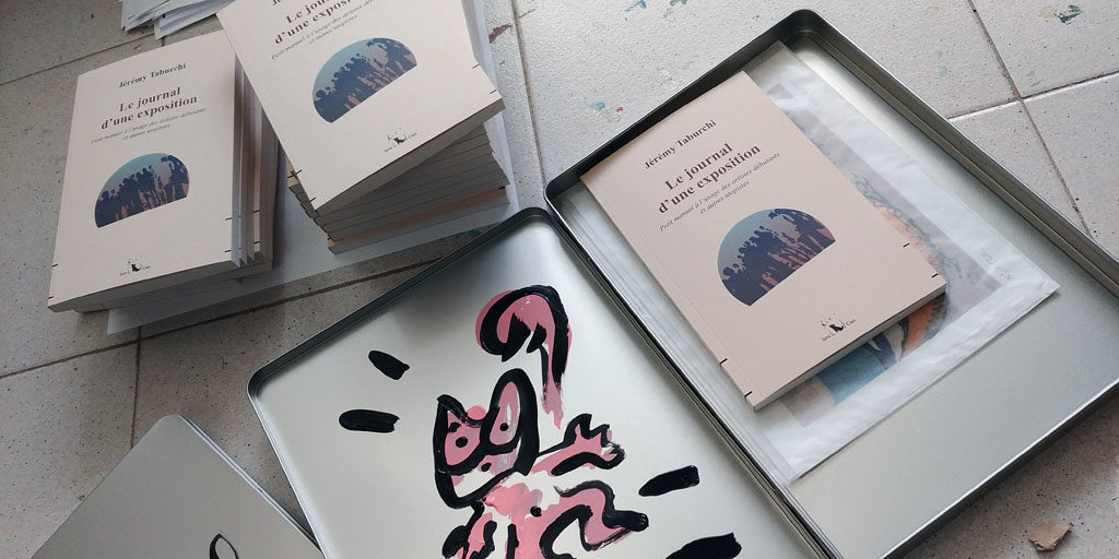 Boites et livres Journal d'une exposition