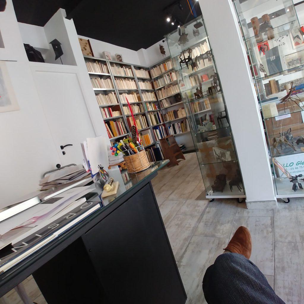 A la librairie Matarasso à Nice
