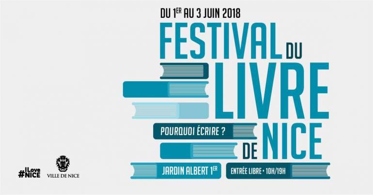 Festival du Livre de Nice 2018
