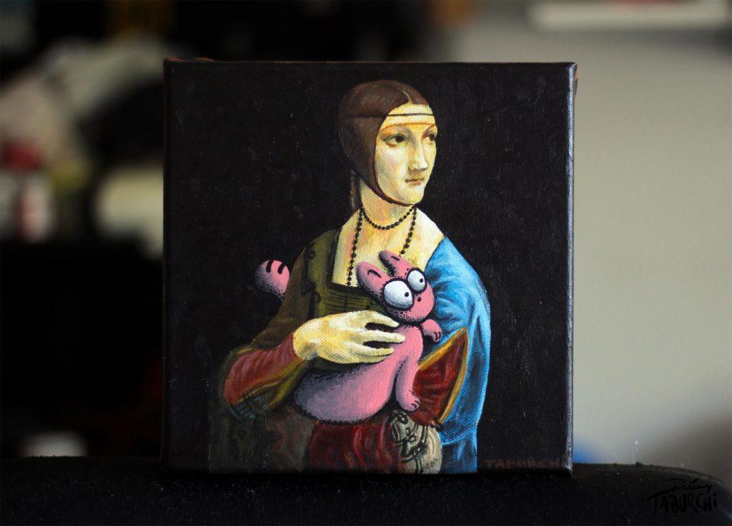 Le tableau de Léonard de Vinci revisité