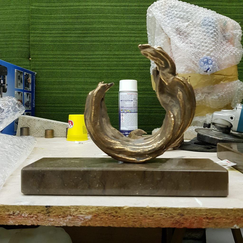 Sculpture en bronze de Taburchi