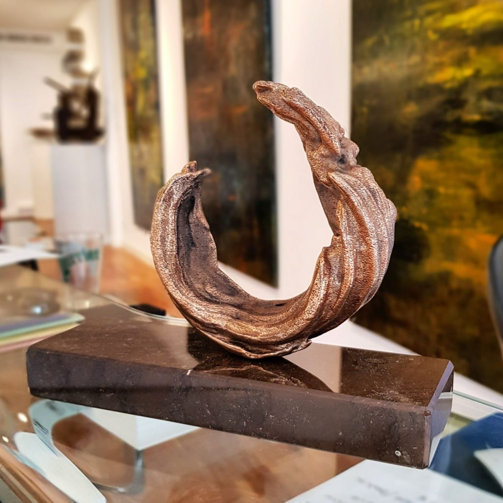 Sculpture de Jérémy Taburchi à la Ferus Gallery