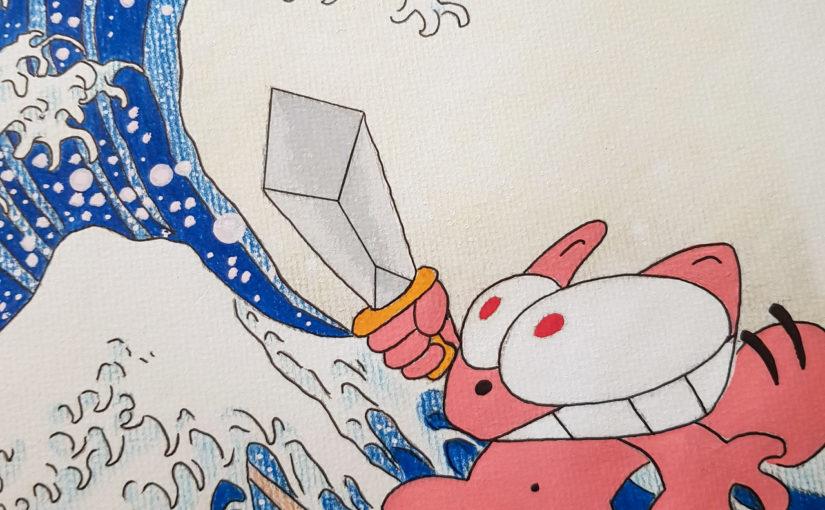Un nouveau dessin du Chat Rose : la deuxième Vague