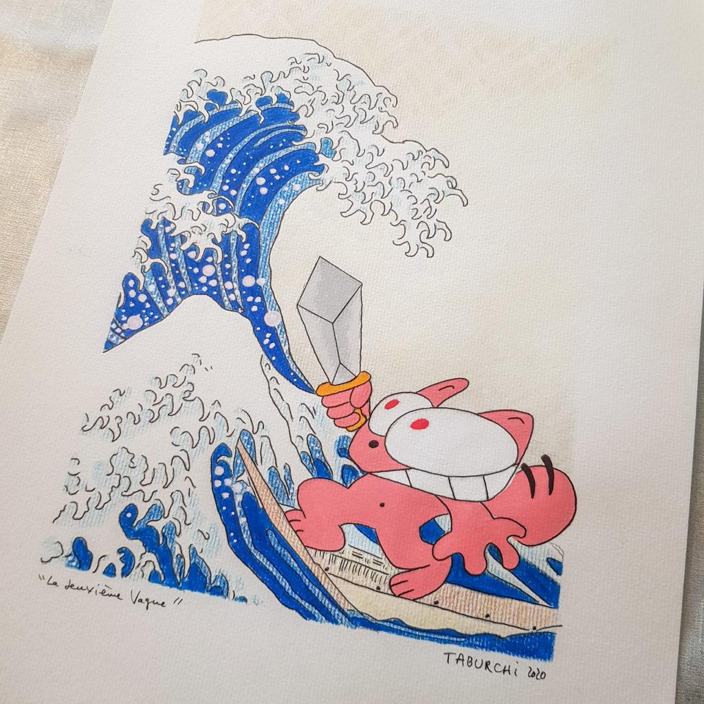 dessin-la-vague-hokusai2