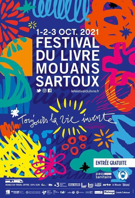 Festival du Livre de Mouans Sartoux 2021